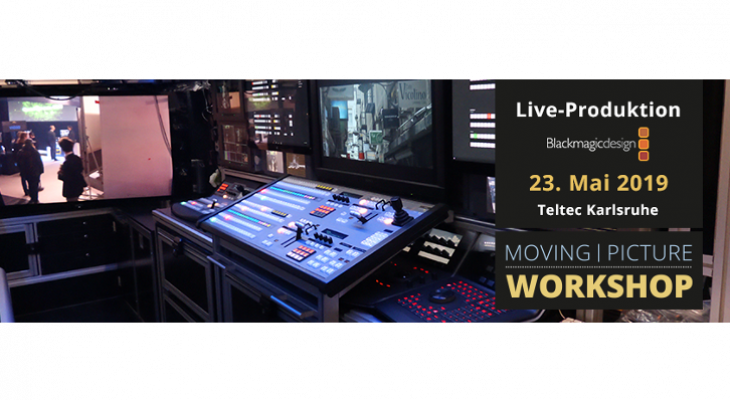 Live-Produktion mit Blackmagic ATEM