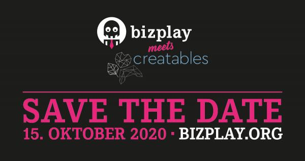 Save the Date - Bizplay meets creatables - 15 Oktober 2020