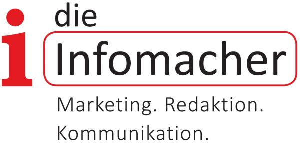Logo der Firma die Infomacher - Marketing, Redaktion, Kommunikation
