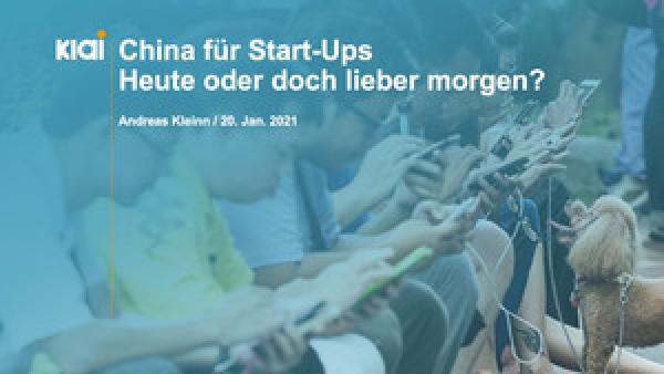 Sharing is caring – China für Start-Ups, Bild: Karlsruher Institut für Technologie (KIT)